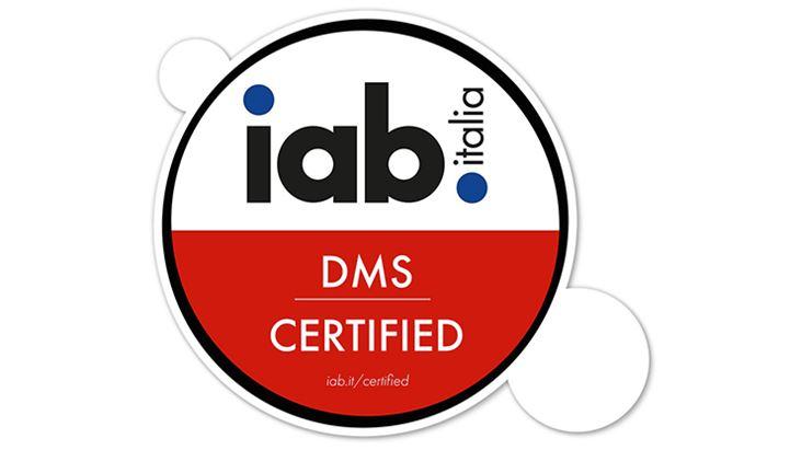 Il badge DMS assegnato da IAB Italia a MainAd