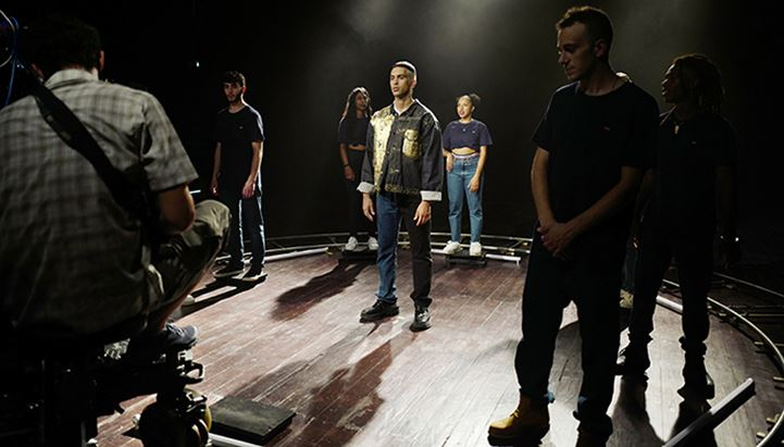 Mahmood per il Levi's Music Project di Milano