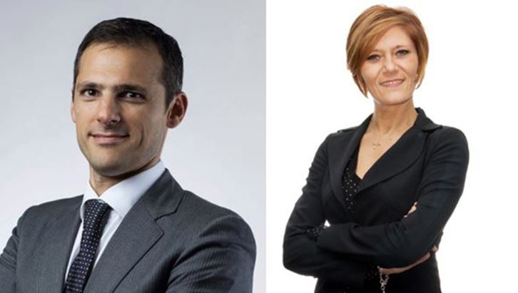 Massimo Moriconi e Francesca Costanzo