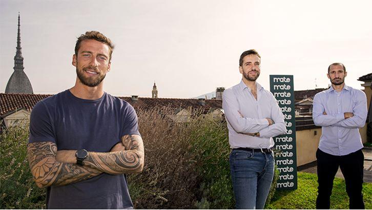 Claudio Marchisio, Alessandro Veroli e Giorgio Chiellini