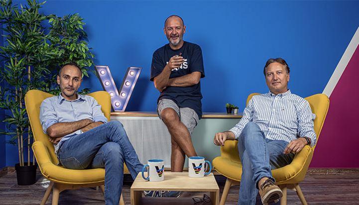 I soci di BestBuying: Alessandro Cocco, Nicola De Marco e Francesco Campana
