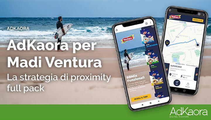 Positivi risultati per la strategia di proximity marketing realizzata da AdKaora per Madi Ventura