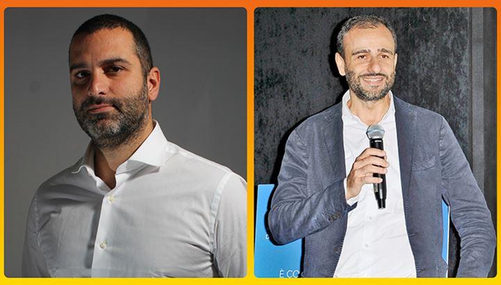 Da sinistra: Francesco Apicella di Evolution ADV e Marco D'Ottavio di Comingsoon.it