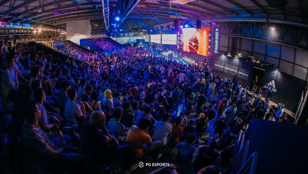 Una delle arene per esport allestita alla Milan Games Week 2019