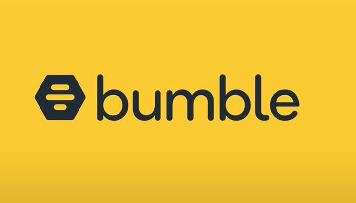 Il logo dell'app di dating Bumble