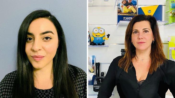 Diana Guarino e Nicoletta Mastromauro