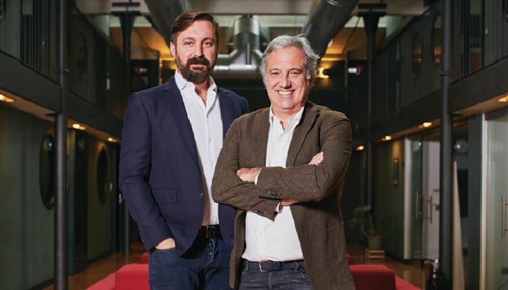 Massimo Righini, Chief Creative Officer di Casta Diva Group, con Fabio Nesi, A.D. di Casta Diva Pictures