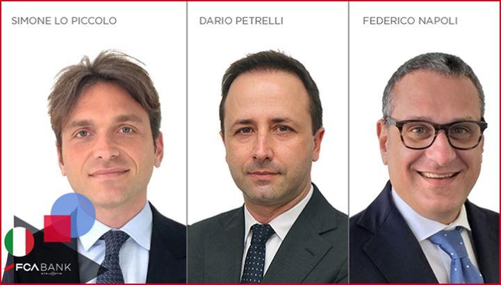 Le nuove nomine in FCA Bank