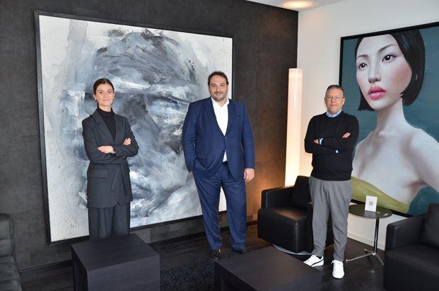 Da sinistra Federica Belloni, Simone Radaelli e Lodovico Minelli