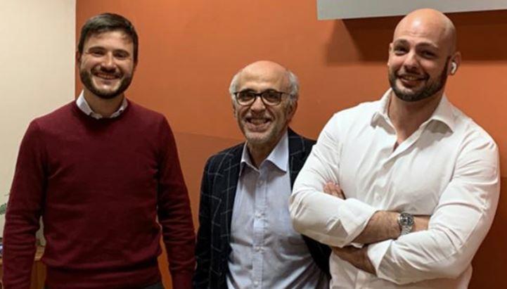 da sinistra: Enrico Porreca, Beppe Carrella e Valerio Italia