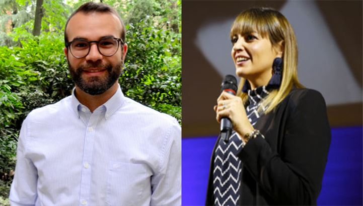 Massimo Garzulino e Chiara Musicco di Smiling