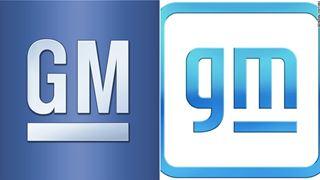 Il vecchio e il nuovo logo di General Motors