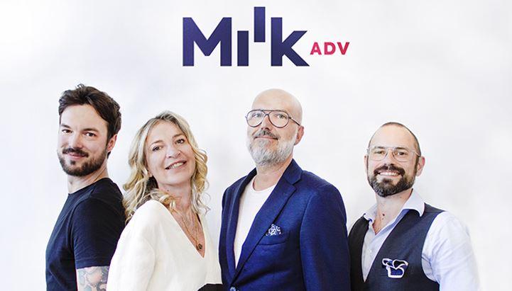 Matteo Visonà, Fabiana Fantinato, Paolo Margonari e Massimiliano Rizzi di Milk Adv