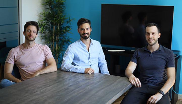 Da sinistra, Massimo Caroli (COO e Co-Founder), Riccardo Fuzzi (CEO e Co-Founder) e Alessandro Del Grano (CCO e Co-Founder)