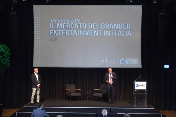 Guido Surci e Alberto Dal Sasso durante la presentazione dello studio
