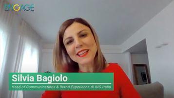 Silvia Bagiolo, Head of Communications & Brand Experience di ING Italia