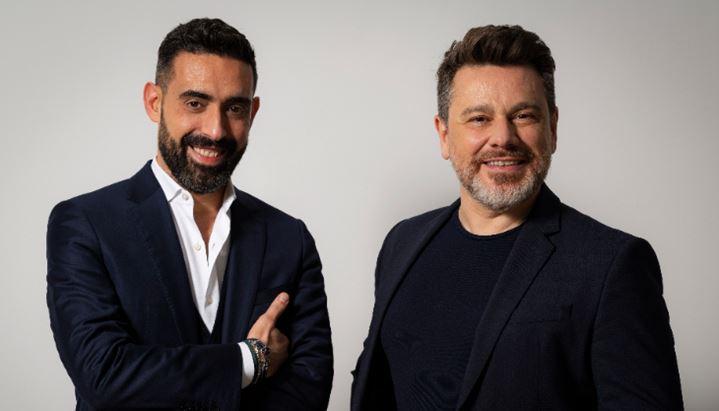 Da sinistra, Marco Valenti e Alberto Gugliada