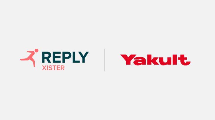 Yakult ha scelto xister Reply per la sua nuova piattaforma digitale