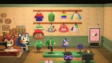 Un'immagine della Benetton Island su Animal Crossing, firmata Dentsu Gaming