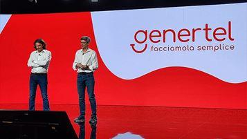 Maurizio Pescarini di Genertel e Marco Sesana di Generali Italia in un momento della presentazione