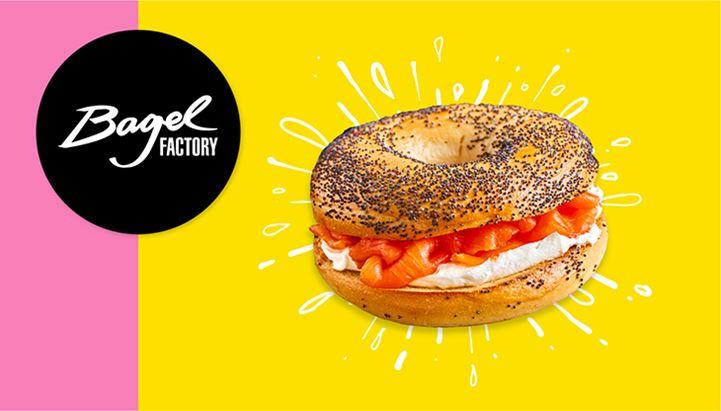 L'ecommerce di Bagel Factory realizzato da Asterisco Creative Agency è rivolto al mercato UK