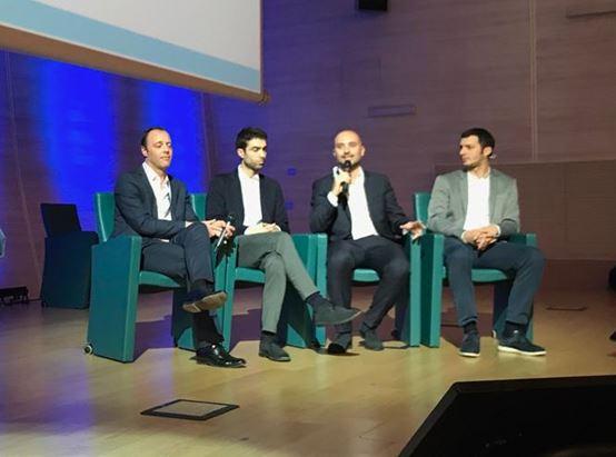 Elia Blei, Paolo Bordini, Gianpio Gravina e Andrea Lamperti