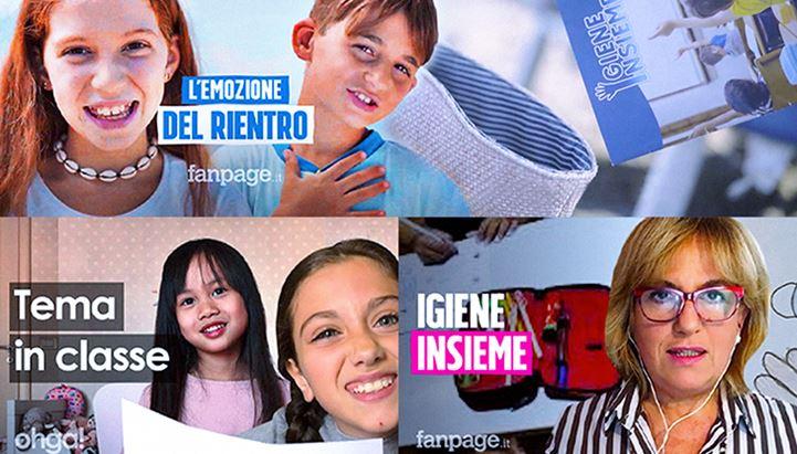 Il progetto realizzato da Napisan con Ciaopeople ha visto la produzione di diversi branded video