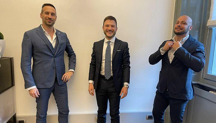 Francesco Caico (Sistem-Evo), Enrico Porreca (Fungo Marketing) e Valerio Italia (Fungo Marketing)