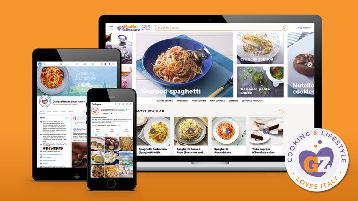 GialloZafferano, debutta la versione internazionale del brand editoriale di cucina