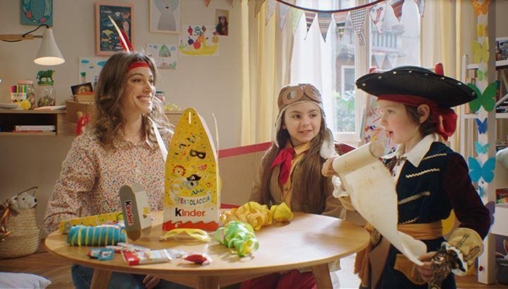 Kinder torna on air e online per Carnevale con un nuovo spot