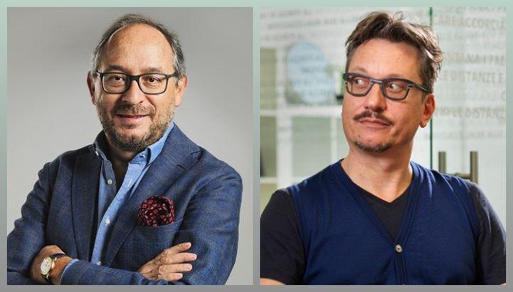 Roberto Botto ed Enrico Chiadò Rana di Libera Brand Building Group