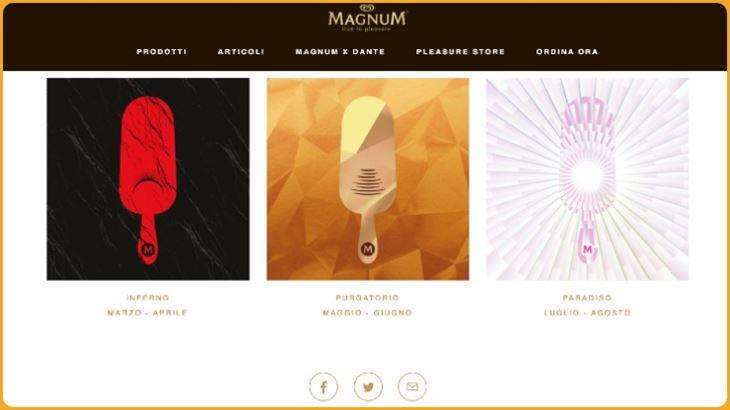 Magnum, una limited edition celebra Dante