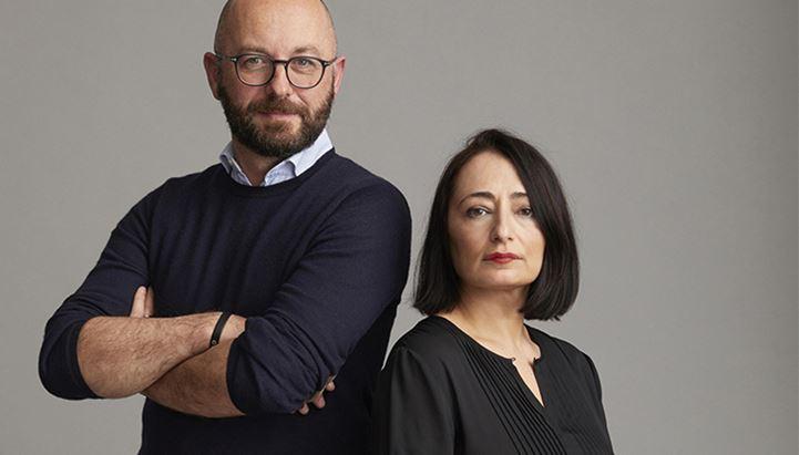 Michele Lorenzi e Stefania Siani, CEO di Plan.Net e Serviceplan Italia, agenzie scelte da Gruppo RTL 102.5