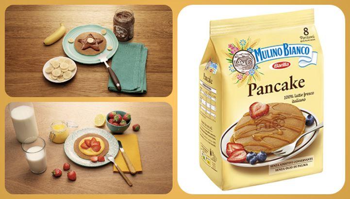 Mulino Bianco lancia i Pancake