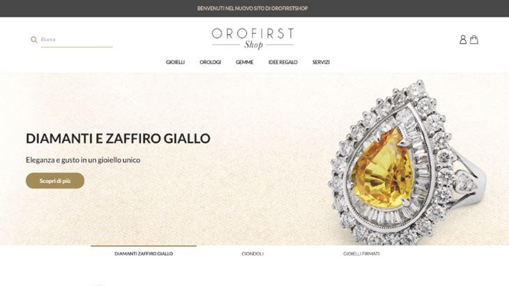 L'ecommerce Orofirst Shop