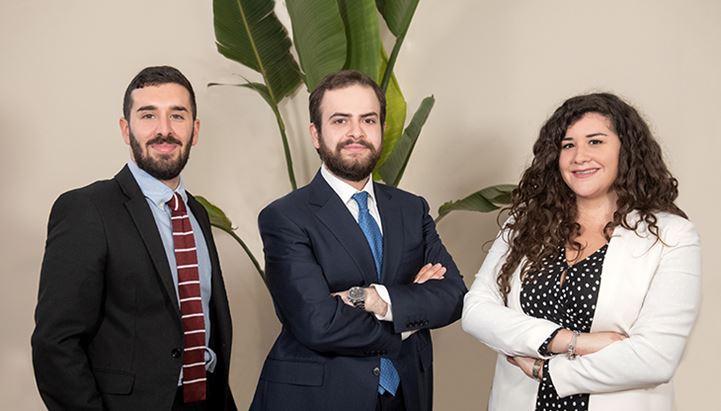 Valerio Carletti, Dario Tasca e Chiara Palumbo