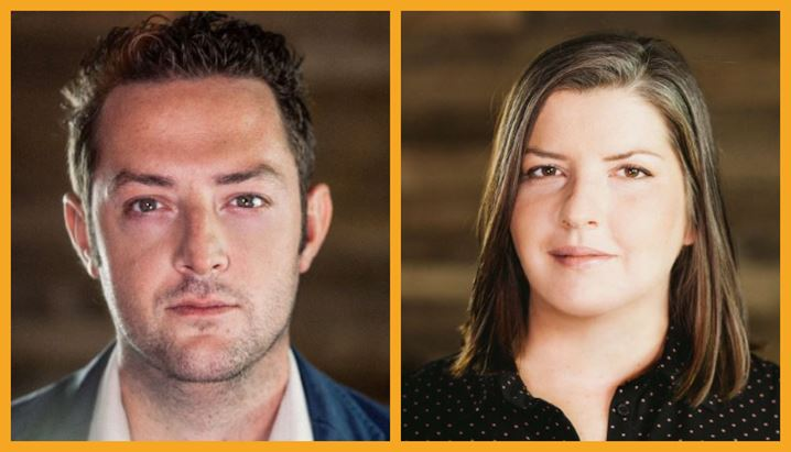 Luca Alzati, Ceo di Show Reel Agency, e Francesca Papa, Direttore Generale di Show Reel Media Group