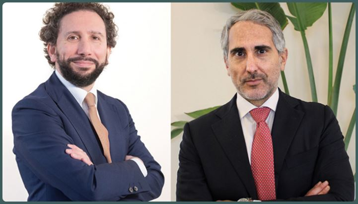 Da sinistra, Andrea Camaiora di The Skill e Francesco Bruno di Lexout