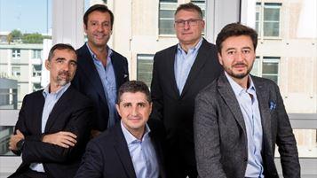 Da sinistra: Sandro Moretti, Antonio Achille, Marco Caradonna, Giovanni Strocchi, Umberto Bottesini