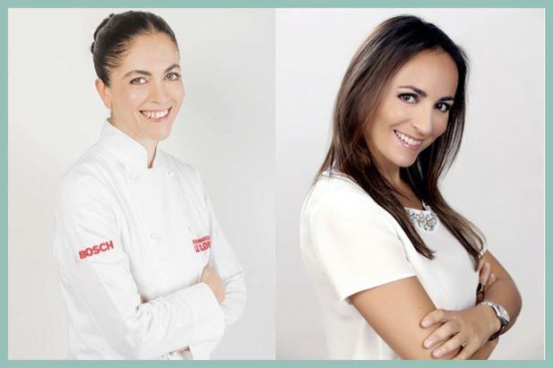 La Chef Rosanna Marziale e Camila Raznovich
