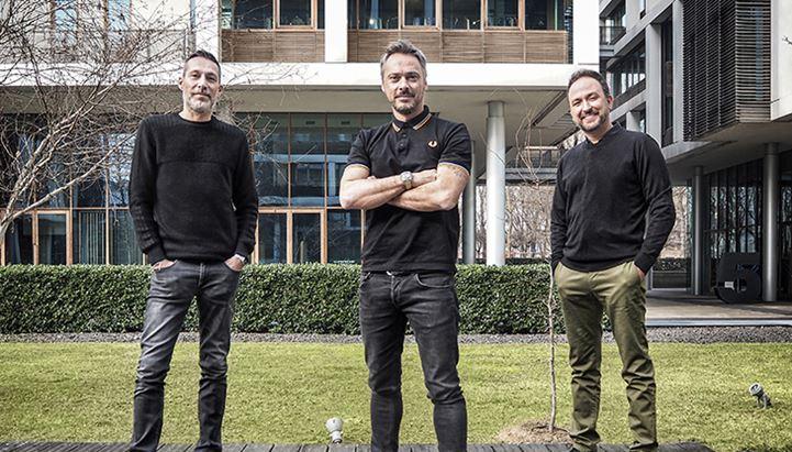 Cristian Comand, Francesco Poletti e Rafael Genu