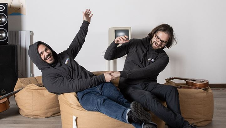 Francesco Frapporti e Luca Cisorio