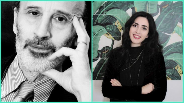 Umberto La Rocca, Direttore, e Francesca Simili, Marketing Manager di Open