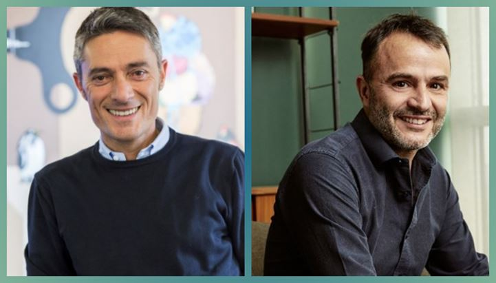 Mariano Di Benedetto di Facebook ed Emanuele Nenna di UNA