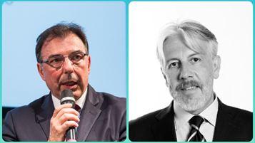 Da sin: Marco Pellegrinato e Guido Confalonieri