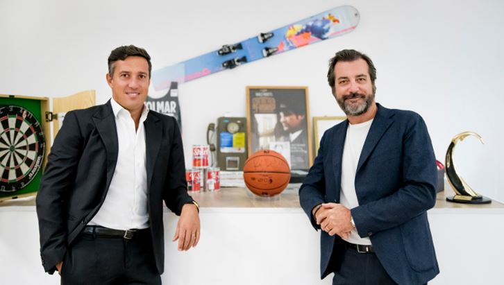 Da sinistra: Michele Budelli, Ceo, e Marco Moretti, Executive Chairman di Fandango Club