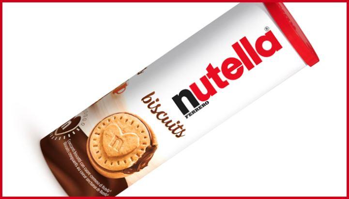 A sostegno del nuovo tubo Nutella Biscuit una campagna pubblicitaria digital e social