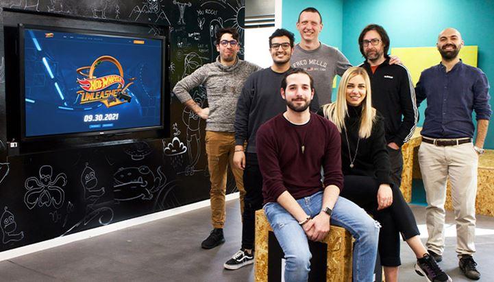 Il team di Playground dedicato al progetto Hot Wheels Unleashed