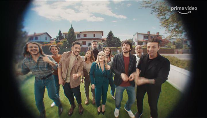 I protagonisti del nuovo spot italiano di Amazon Prime Video