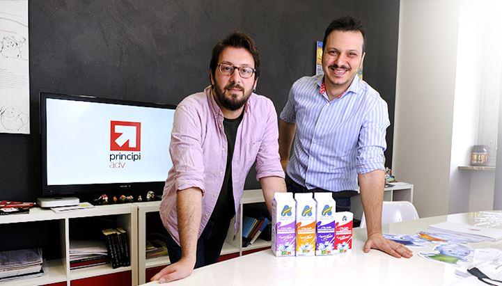 Marco Anello e Sergio Gambatesa, rispettivamente Direttore Marketing e Direttore Creativo di Principi ADV